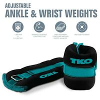 TKO Ankle/Wrist Weights in 2 lb or 5 lb (2 Piece Set)