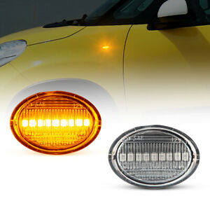LED Indicators for All Fiat 500, 500C, 500L Year From 2007- Clear Glass