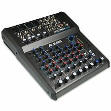 Alesis Multimix 8 Channel USB Home Recording Studio DJ Audio Interface Mixer PA