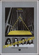 1977 Utopia-Oops Wrong Planet rock album release vintage photo print ad ads45