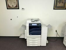 Xerox Workcentre 7545 Color Copier Machine Network Printer Scanner Fax Finisher