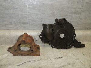 Early Ford Model T Original Front Timing Cover & Generator Mount, Nice