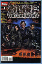 Space Above & Beyond The Gauntlet #1 1996 Roy Thomas Yanick Paquette Topps Comic