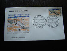 MADAGASCAR - enveloppe 14/4/71 - usine de chrome - yt n° 485 - (cy5) (Z)