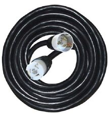 Voltec 09-00215 6/3, 8/1 STW Temporary Power Cord, 100-Foot, Black
