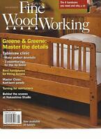 TAUNTON'S FINE WOOD WORKING, JANUARY / FEBRUARY, 2013  ( GREENE & GREENE  )