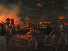 """Our Flag Was Still There"" Don Troiani Print - The Defense of Fort McHenry 1814"