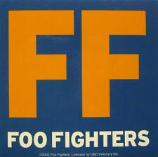 Foo FIGHTERS Adesivo/Sticker # 4-PVC