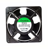 2122HBT 5pc SUNON DP201AT 2122HBT.GN AC Fan 120x120x25mm 12x12x2.5cm AC220V