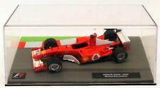 Coches de Fórmula 1 de automodelismo y aeromodelismo Ferrari F2002 Escala 1:43