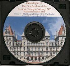 Albany County New York First Settlers + Bonus Books