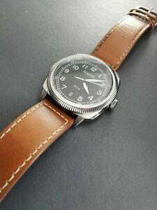 Bulova 96b230 Military Style High Frequency Quartz Watch