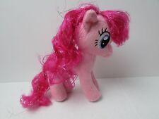 """PINKIE PIE 6.5"""" Plush Doll My Little Pony Aurora Mylar Hair NEW NWT MLP Brony"""