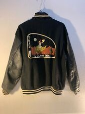 Vintage Western Guess Club Jeans Leather Varsity Jacket Georges Marciano Supreme