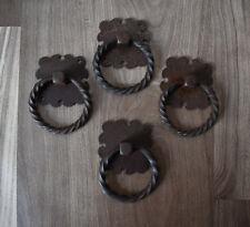 VINTAGE Handforged chest door KNOCKER ring Pull drop handle knob 4 pic