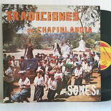 Marimaba Chapinlandia TRADICIONES DE CHAPINLANDIA Sones LP FONICA LP VG+ vinyl
