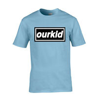 Liam Gallagher Tribute T-Shirt Oasis Logo Parody Ourkid As You Were Mens S-XXL