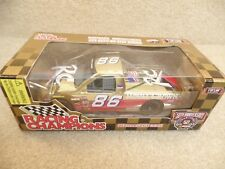 1998 Racing Champions 1:24 Gold NASCAR Stacy Compton RC Cola Royal Crown #86 a