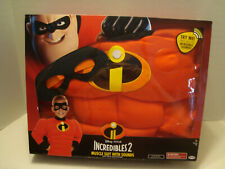 Incredibles 2 Muscle Suit With Sounds Disney Pixar Size 5+ Fits 4 - 6X NIB 2018!