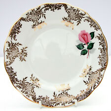 Vintage Royal Standard Bone China Pattern 2190 Pink Rose Gold Tea Plate