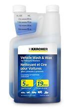 Karcher Car Wash & Wax Soap for Pressure Washers 1 Quart Vehicle Wash