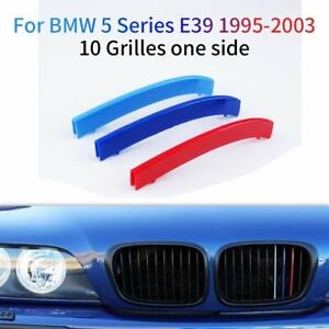 BizTech® Clip In Grill inserts Stripes For BMW 5 Series 95-03 E39 M Power