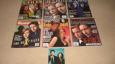The X-Files Magazines and Postcard
