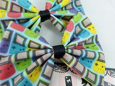 Game Boy Colour Handmade Fabric Hair Bow - Bright Gamer Girl Hair Clip