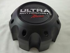 Ultra Wheels XTREME Flat Black Custom Wheel Center Cap (1) # 89-9780SBX