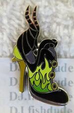 Disney MALEFICENT VILLAIN SHOE Slipper  Booster  Pin AUTHENTIC