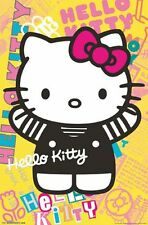 HELLO KITTY - COLORFUL POSTER - 22x34 - 13693