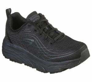 Skechers Women Work Relaxed Fit: Max Cushioning Elite SR 108016 Black A3