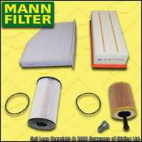 SERVICE KIT for VW PASSAT (3C) 1.9 TDI MANN OIL AIR FUEL CABIN FILTERS 2005-2010
