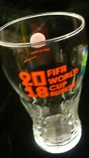 Fifa 2018 World cup Russia Coca Cola Coke glass 12 ounce
