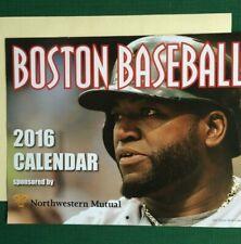 BOSTON Baseball, 2016 Calendar for Collectible  Photos/ Sale Priced