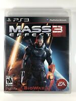 FREE SHIPPING🔥 Mass Effect 3 (Sony PlayStation 3 2012)PS3 Game Complete CIB VG