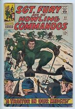 SGT. FURY and his HOWLING COMMANDOS #32 & #33 Marvel 1964 Silver Age WWII Lot 2