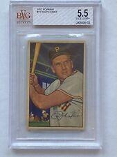 1952 Bowman Ralph Kiner #11 BVG Beckett 5.5 Excellent+ Pittsburgh Pirates