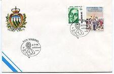 1991-07-06 San Marino milititano ANNULLO SPECIALE Cover
