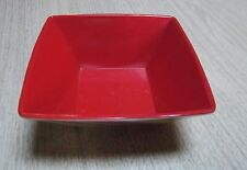 """Missoni"" for Target Square Tapered Bowl  Multi Color Melamine 5.75 X 3"" 1 piece"