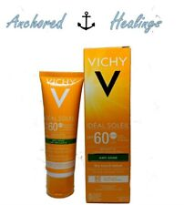 Vichy Ideal Soleil Sunscreen SPF60 MADE IN FRANCE Anti-Shine Dry Lotion 50mL
