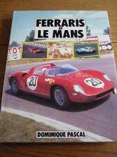FERRARIS AT LE MANS RACING CAR Book  jm
