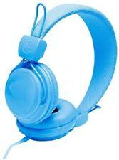 Urbanz Neon Blue Children Kids DJ Lightweight Headphones Mp3 iPad iPhone iPod
