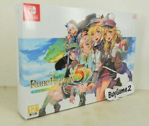 NEW NS Switch Rune Factory 5 (HK Chinese Collector's Limited Boxset)