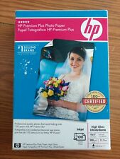 HP Premium Plus Photo Paper High Gloss 4×6 (100 Sheets) *NIB*