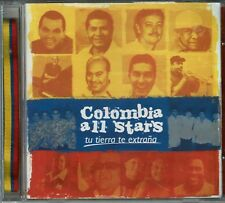 Colombia All Stars Tu Tierra te Extraña   BRAND NEW SEALED CD