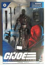 GI Joe Classified Series Snake Eyes Hasbro Action Figure MIP