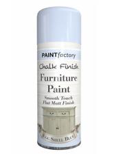 Chalk Finish Furniture Spray Paint Smooth Touch Matt Finish 400ML & 9 Colours