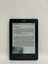 AMAZON KINDLE MODEL D01100 eBook Reader with Books (128 Items) - Ink Damage