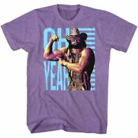 OFFICIAL Macho Man Randy Savage OH YEAH Gun Show Wrestling Men's T-shirt S 2XL